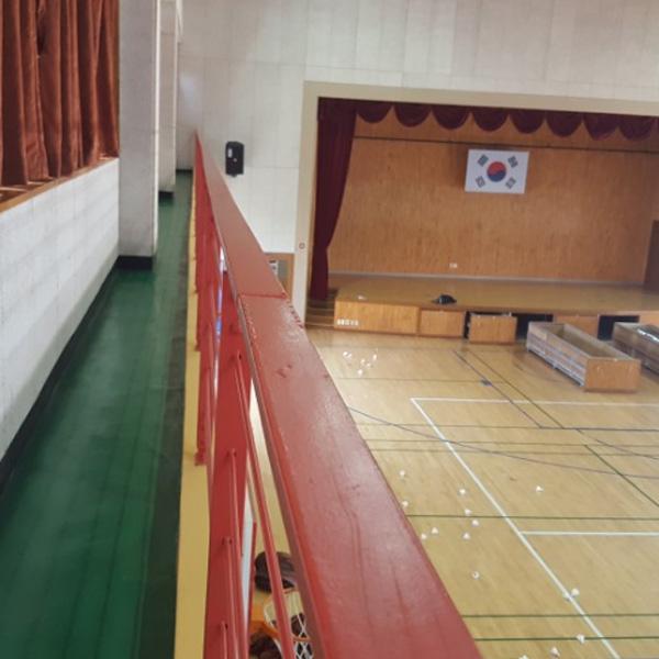 구로구 오류초등학교 체육관청소